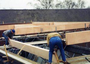 van vader geleerd=begin met dak